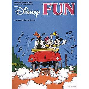 DISNEY - FUN FOR PIANO SOLO