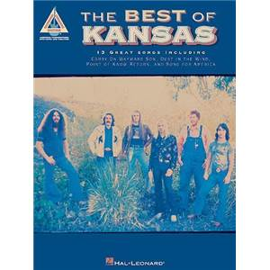 KANSAS - THE BEST OF 13 GREAT SONGS VERSION GUITARE TAB.