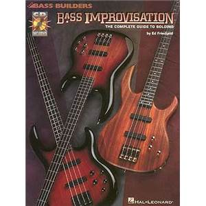 FRIEDLAND ED - BASS IMPROVISATION BASS BUILDERS + CD