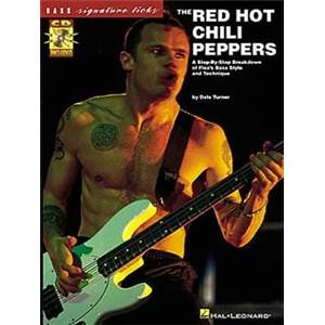 RED HOT CHILI PEPPERS - BASS SIGNATURE LICKS + CD