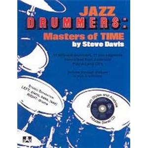COMPILATION - JAZZ DRUM AEBERSOLD MASTER OF TIME + CD