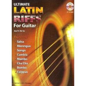 DE SA JOE - ULTIMATE LATIN RIFFS FOR GUITAR + CD