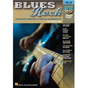 COMPILATION - GUITAR PLAY ALONG DVD VOL.28 BLUES ROCK