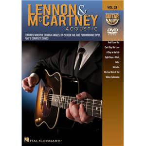 LENNON / MCCARTNEY - GUITAR PLAY ALONG DVD VOL.29