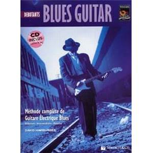 HAMBURGER DAVID - BLUES GUITARE DEBUTANT TAB. + CD