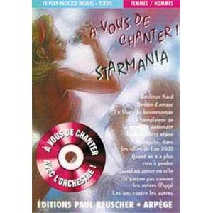 COMPILATION - A VOUS DE CHANTER STARMANIA + CD