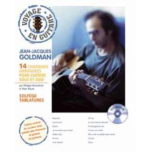 GOLDMAN JEAN JACQUES - VOYAGE EN GUITARE + CD
