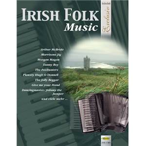 COMPILATION - IRISH FOLK MUSIC POUR ACCORDEON