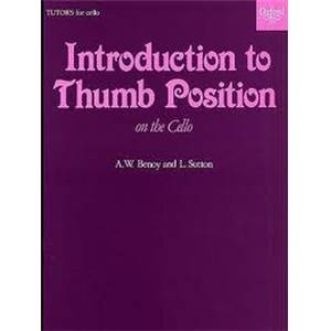 BENOY W./SUTTON L. - INTRODUCTION TO THUMB POSITION VIOLONCELLE