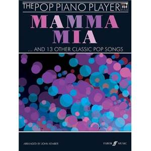 KEMBER JOHN - POP PIANO PLAYER MAMMA MIA + CD