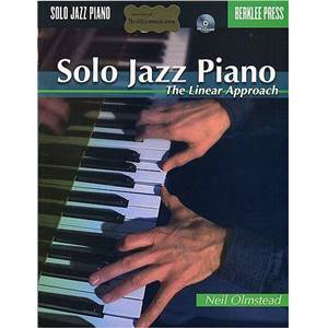 OLMSTEAD NEIL - SOLO JAZZ PIANO THE LINEAR APPROACH BERKLEE PRESS + CD