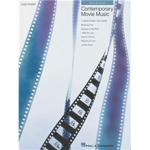 COMPILATION - CONTEMPORARY MOVIE MUSIC 3RD EDITIONS FOR EASY PIANO
