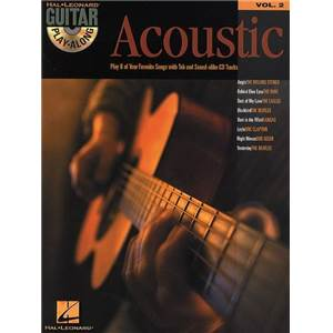 COMPILATION - GUITAR PLAY ALONG VOL.002 ACOUSTIC TAB. + CD
