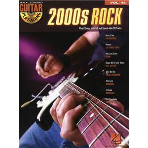 COMPILATION - GUITAR PLAY ALONG VOL.042 2000S ROCKS + CD