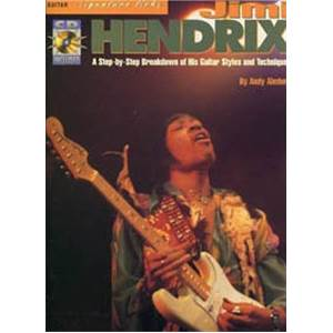 HENDRIX JIMI - BEST OF SIGNATURE LICKS GUITAR TAB+ CD