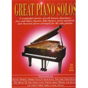 COMPILATION - GREAT PIANO SOLOS RED BOOK