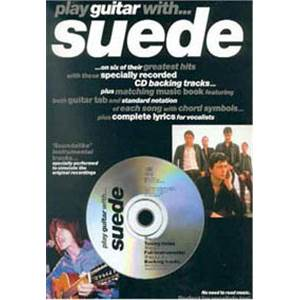 SUEDE - PLAY GUITAR TAB. + CD