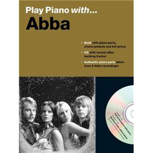 ABBA - PLAY PIANO WITH + CD