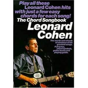 COHEN LEONARD - CHORD SONGBOOK