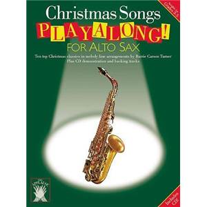 COMPILATION - APPLAUSE! CHRISTMAS PLAY ALONG ALTO SAXOPHONE + CD