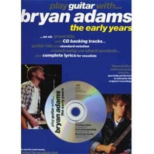 ADAMS BRYAN - PLAY GUITAR WITH EARLY YEARS TAB. + CD