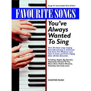COMPILATION - FAVOURITE SONGS YOU'VE ALWAYS WANTED TO SING