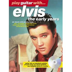 PRESLEY ELVIS - PLAY GUITAR WITH...EARLY YEARS + CD