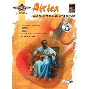 EYRE BANNING - GUITAR ATLAS AFRICA YOUR PASSPORT TO A NEW WORLD OF MUSIC + CD