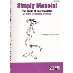 MANCINI HENRY - SIMPLY 21 MELODIES EASY PIANO