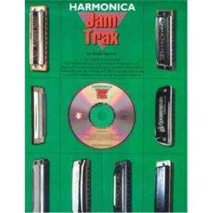 COMPILATION - HARMONICA JAM TRAX 12 TITRES+ CD