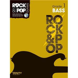 COMPILATION - TRINITY COLLEGE LONDON : ROCK & POP GRADE 1 FOR BASS + CD