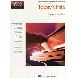 COMPILATION - HAL LEONARD STUDENT PIANO LIBRARY TODAY'S HITS