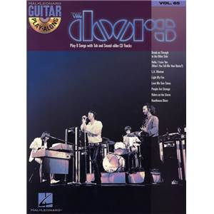 THE DOORS - GUITAR PLAY ALONG VOL.065 TAB. + CD