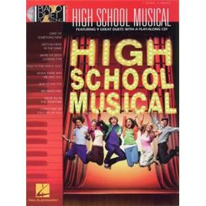 COMPILATION - PIANO DUET PLAY ALONG VOL.17 HIGH SCHOOL MUSICAL + CD