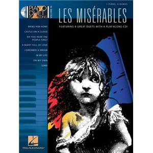 BOUBLIL / SCHONBERG - LES MISERABLES PIANO DUET PLAY ALONG VOL.014 + CD