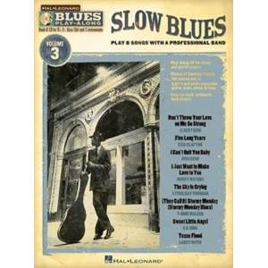 COMPILATION - BLUES PLAY ALONG VOL.3 : SLOW BLUES + CD