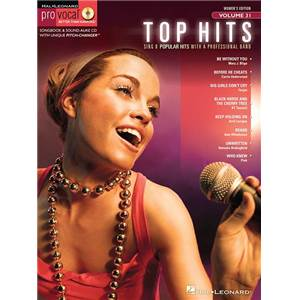 COMPILATION - PRO VOCAL FOR WOMEN SINGERS VOL.31 TOP HITS + CD