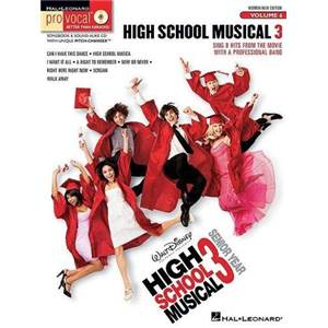 COMPILATION - PRO VOCAL FOR WOMEN AND MEN SINGERS VOL.06 HIGH SCHOOL MUSICAL 3 + CD