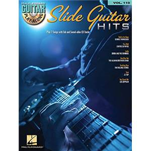 COMPILATION - GUITAR PLAY ALONG VOL.110 SLIDE GUITAR HITS + CD