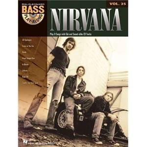 NIRVANA - BASS PLAY ALONG + CD