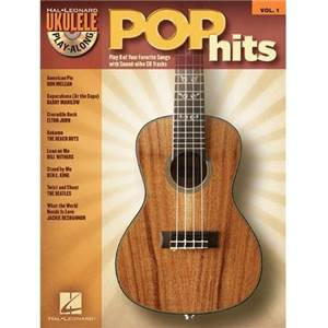 COMPILATION - UKULELE PLAY ALONG VOL.1 POP HITS + CD