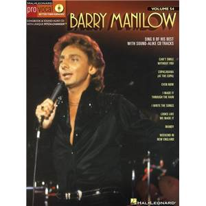 MANILOW BARRY - PRO VOCAL FOR MALE SINGERS VOL.54 + CD