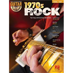 COMPILATION - GUITAR PLAY ALONG VOL.127 1970'S ROCK + CD