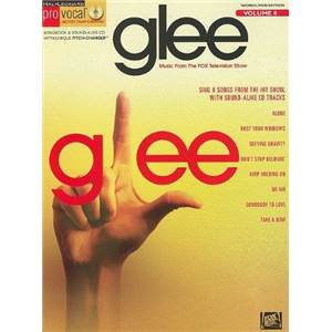 COMPILATION - PRO VOCAL FOR WOMEN AND MEN SINGERS VOL.08: GLEE + CD