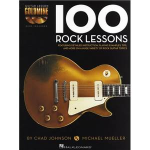 JOHNSON CHAD / MUELLER MICHAEL - 100 ROCK LESSONS + 2 CD