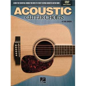 JOHNSON CHAD - ACOUSTIC GUITAR CHORDS + DVD