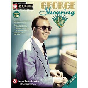 SHEARING GEORGE - JAZZ PLAY ALONG VOL.160 + CD