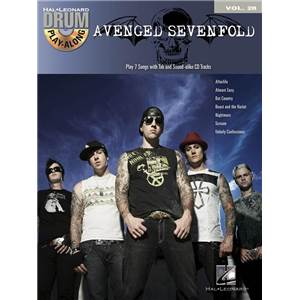 AVENGED SEVENFOLD - DRUM PLAY ALONG VOL.28 + CD