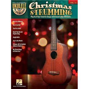 COMPILATION - UKULELE PLAY ALONG VOL.11 CHRISTMAS STUMMING + CD