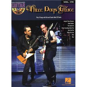 THREE DAYS GRACE - GUITAR PLAY ALONG VOL.170 + CD